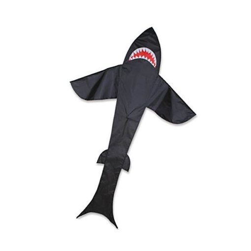 Black 5 Ft. Shark Kite